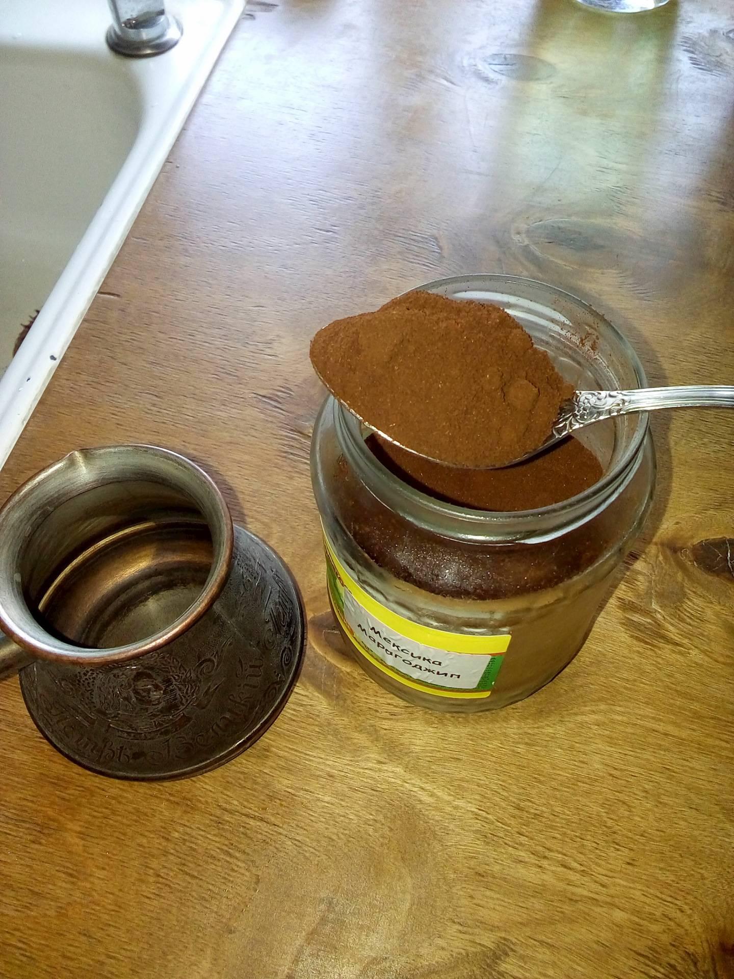 Сколько ложек кофе класть на чашку