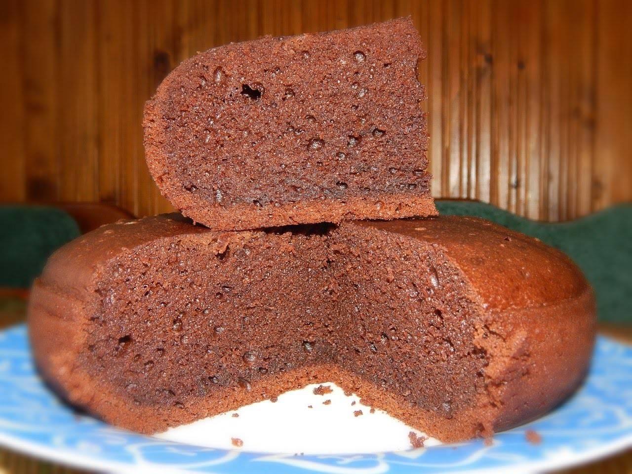 Шоколадный бисквит - лучшие пошаговые рецепты с фото и видео