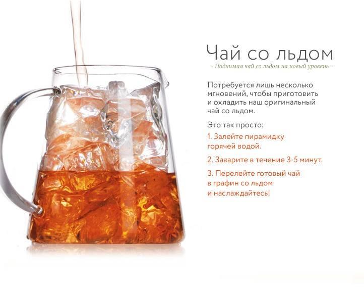 Холодный чай: топ-6 летних рецептов, секреты приготовления