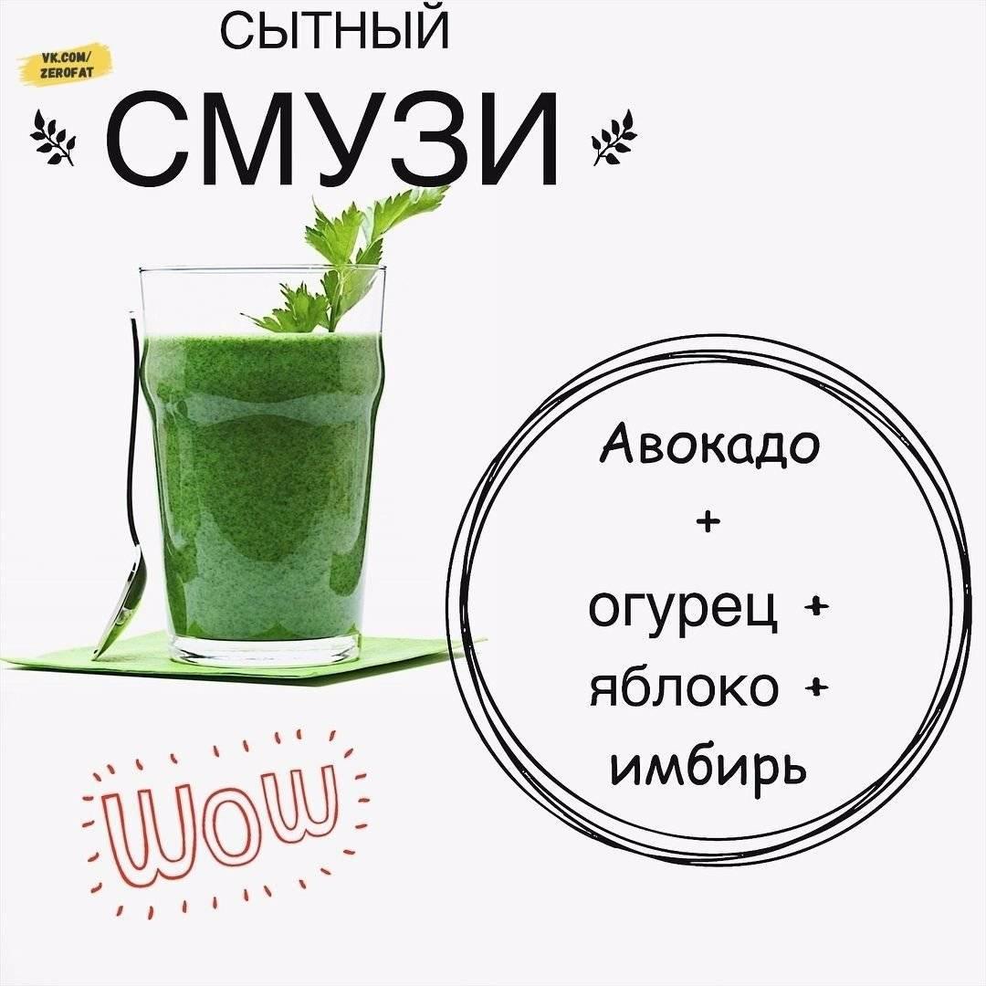 Детокс смузи для похудения: рецепты - allslim.ru