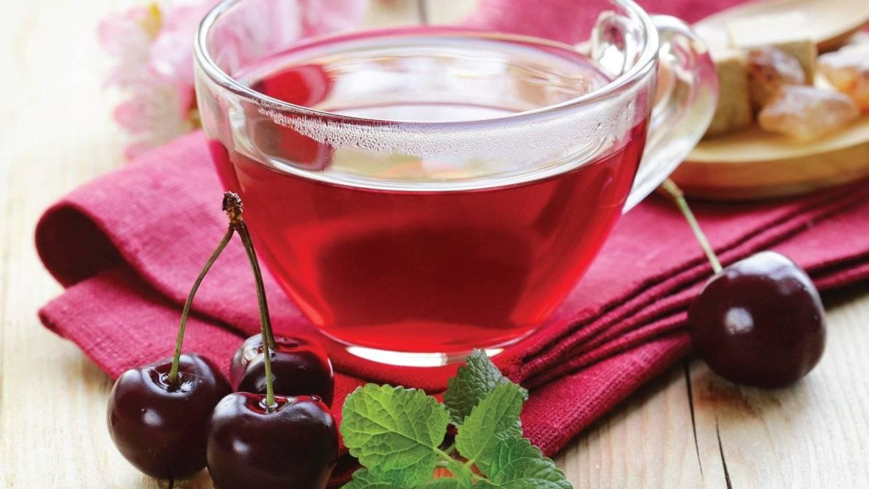 Чай из листьев вишни польза и вред как заваривать рецепты