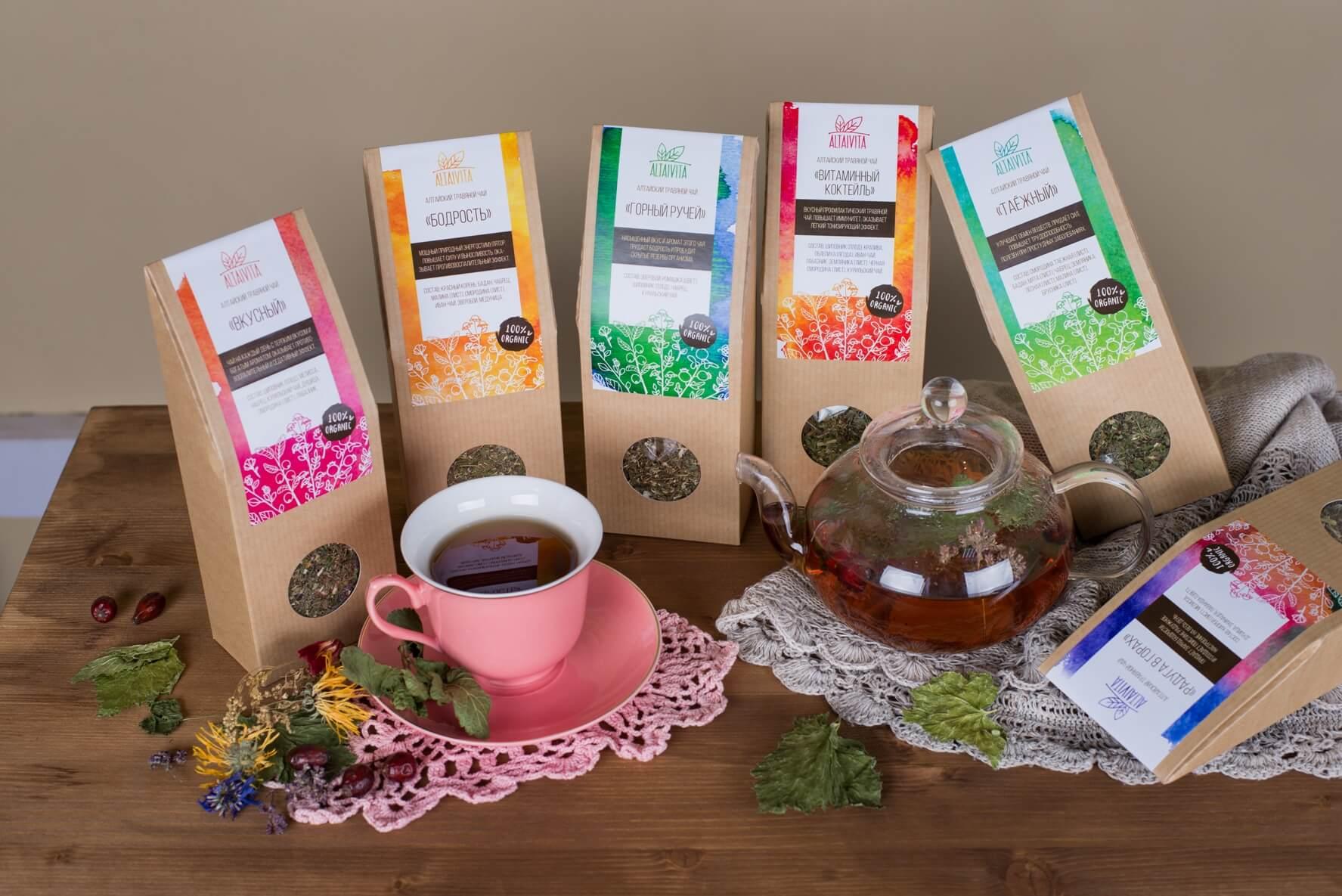 Иван чай алтайский, разные виды чая, полезные свойства