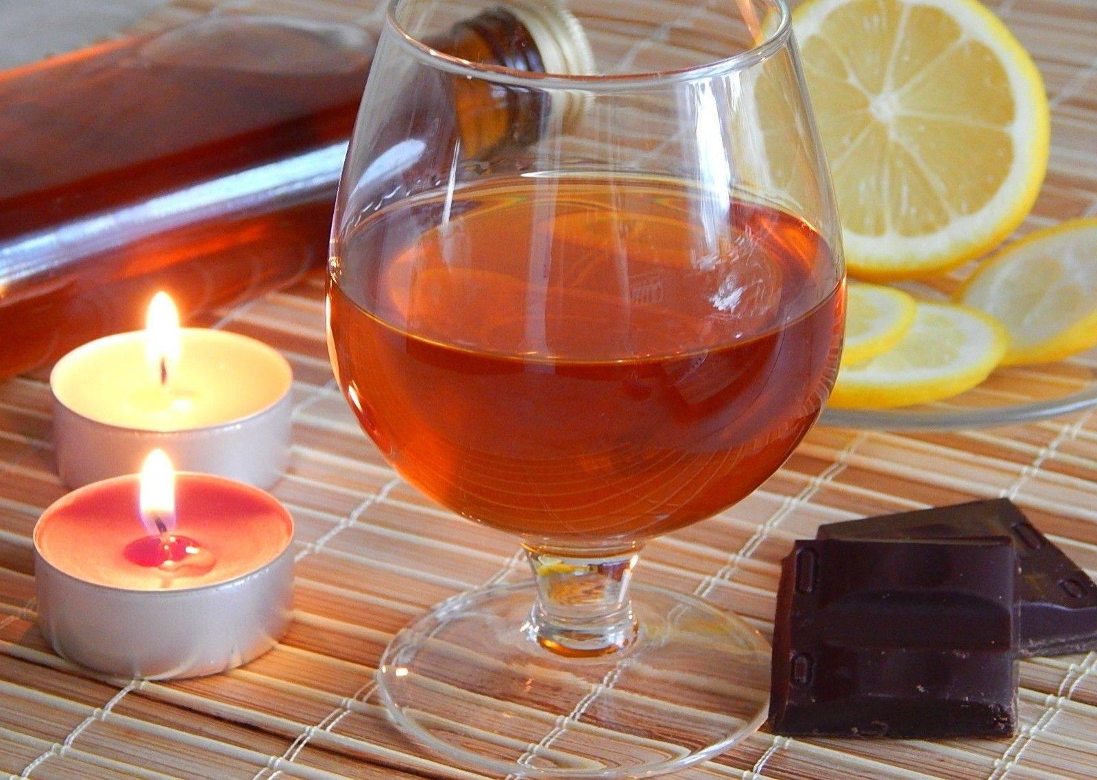 Чай с коньяком – напиток аристократов