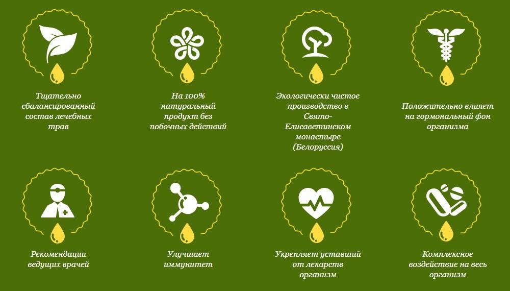 Что входит в состав монастырского чая: свойства компонентов