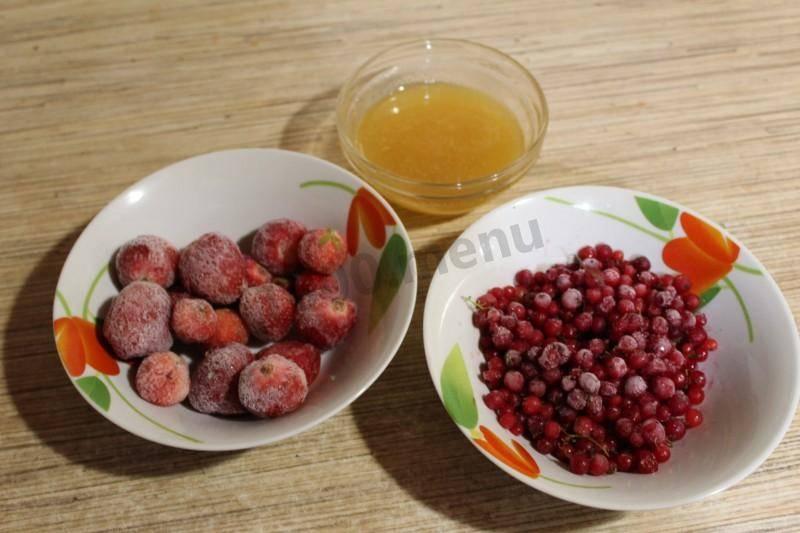 Как делать морс из замороженных ягод- рецепт пошаговый с фото