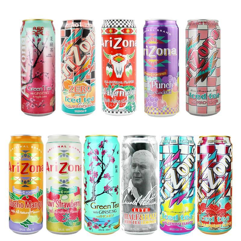 Arizona - напиток для активных и стильных — рецепты, ингредиенты, приготовление, фото, видео
