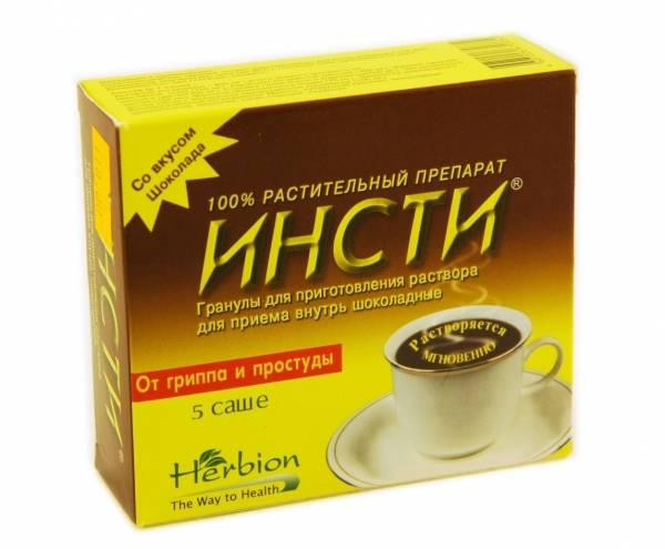 Инсти чай: инструкция