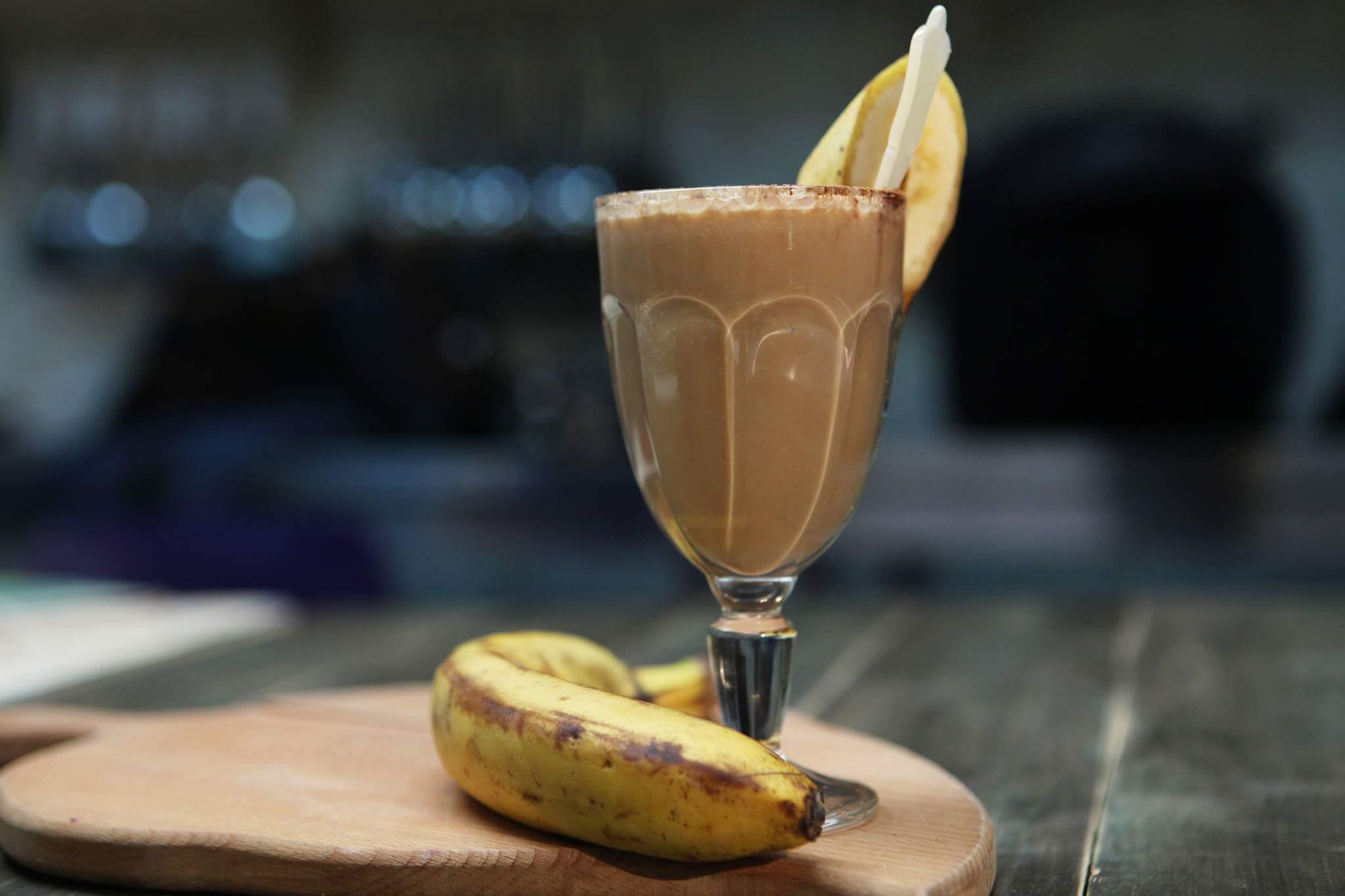 Кофе с бананом - рецепты приготовления лакомства