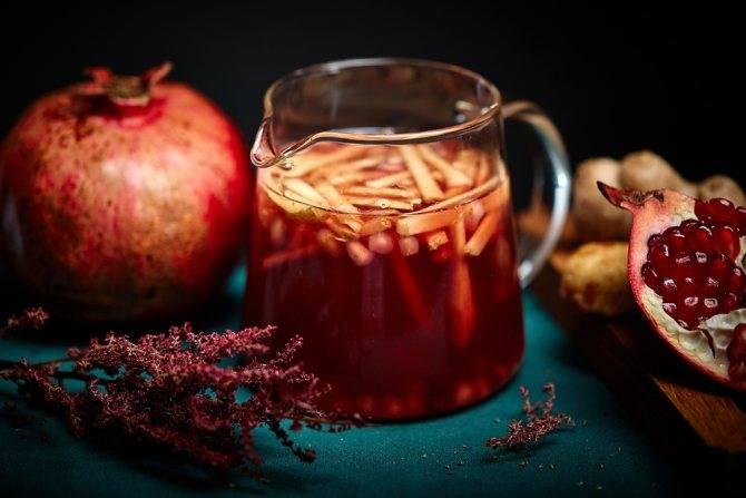 Гранатовый чай: польза и вред, как приготовить дома