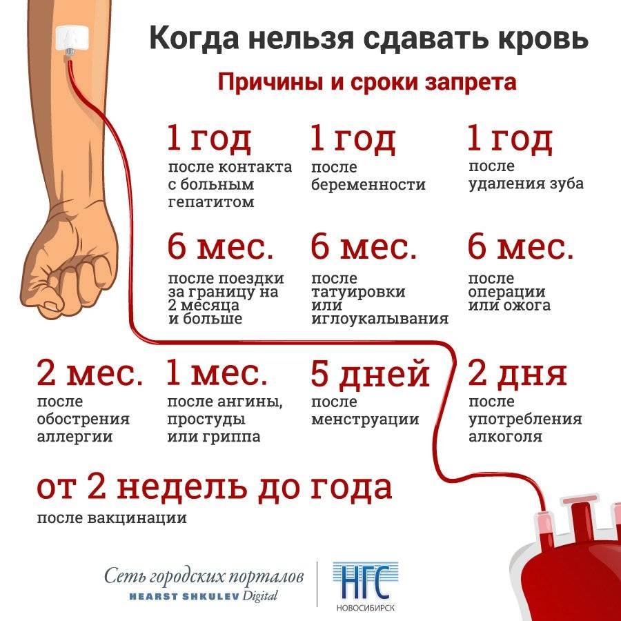 Что нельзя делать перед сдачей крови из вены на анализ