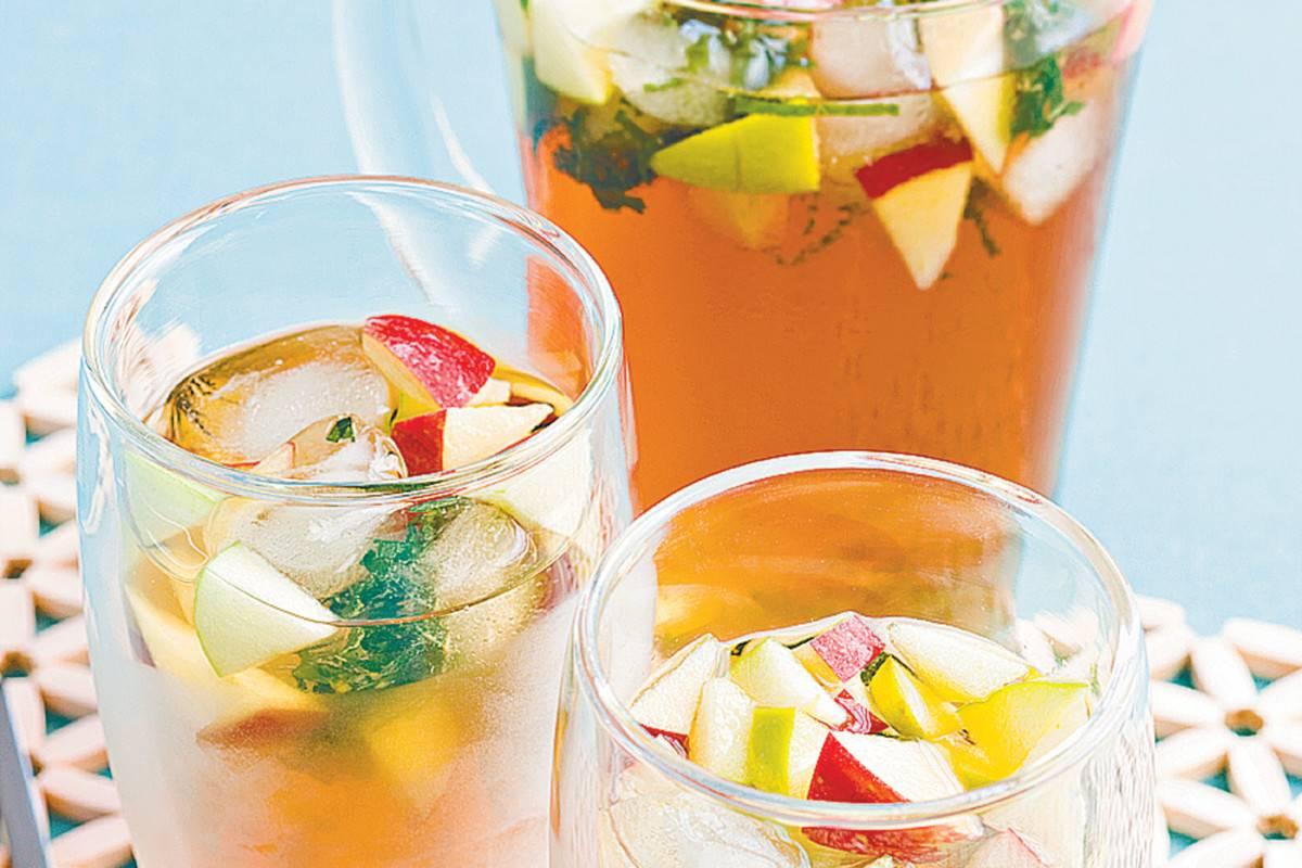 Рецепты холодных чаев