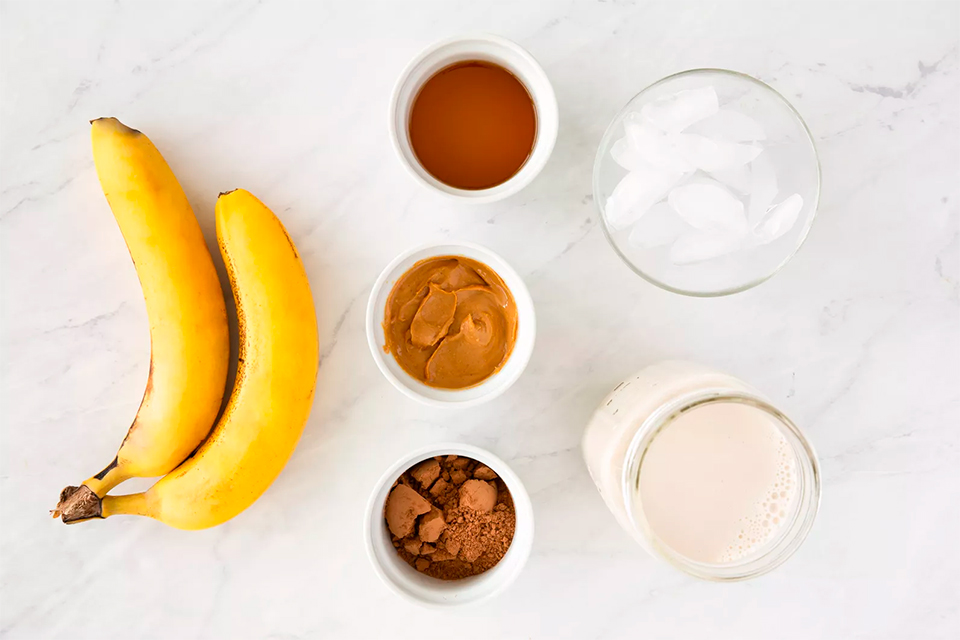 Как приготовить какао с бананом
