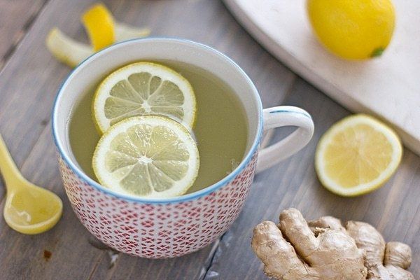 Любимый всеми чай с лимоном