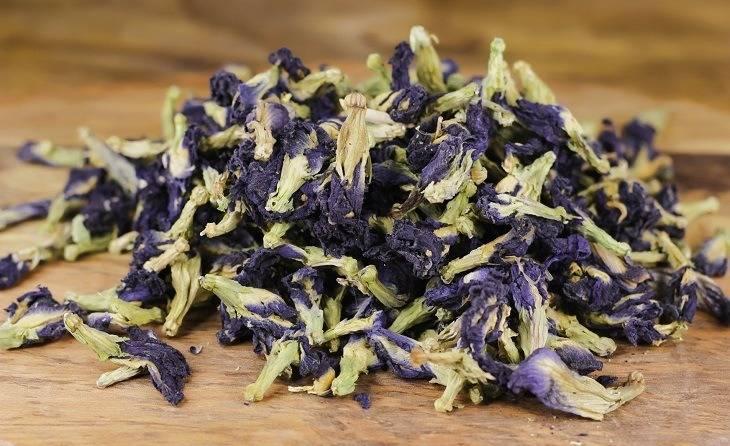 Тайский синий чай: полезные свойства и состав, как правильно заваривать и пить. польза и вред напитка из тайланда
