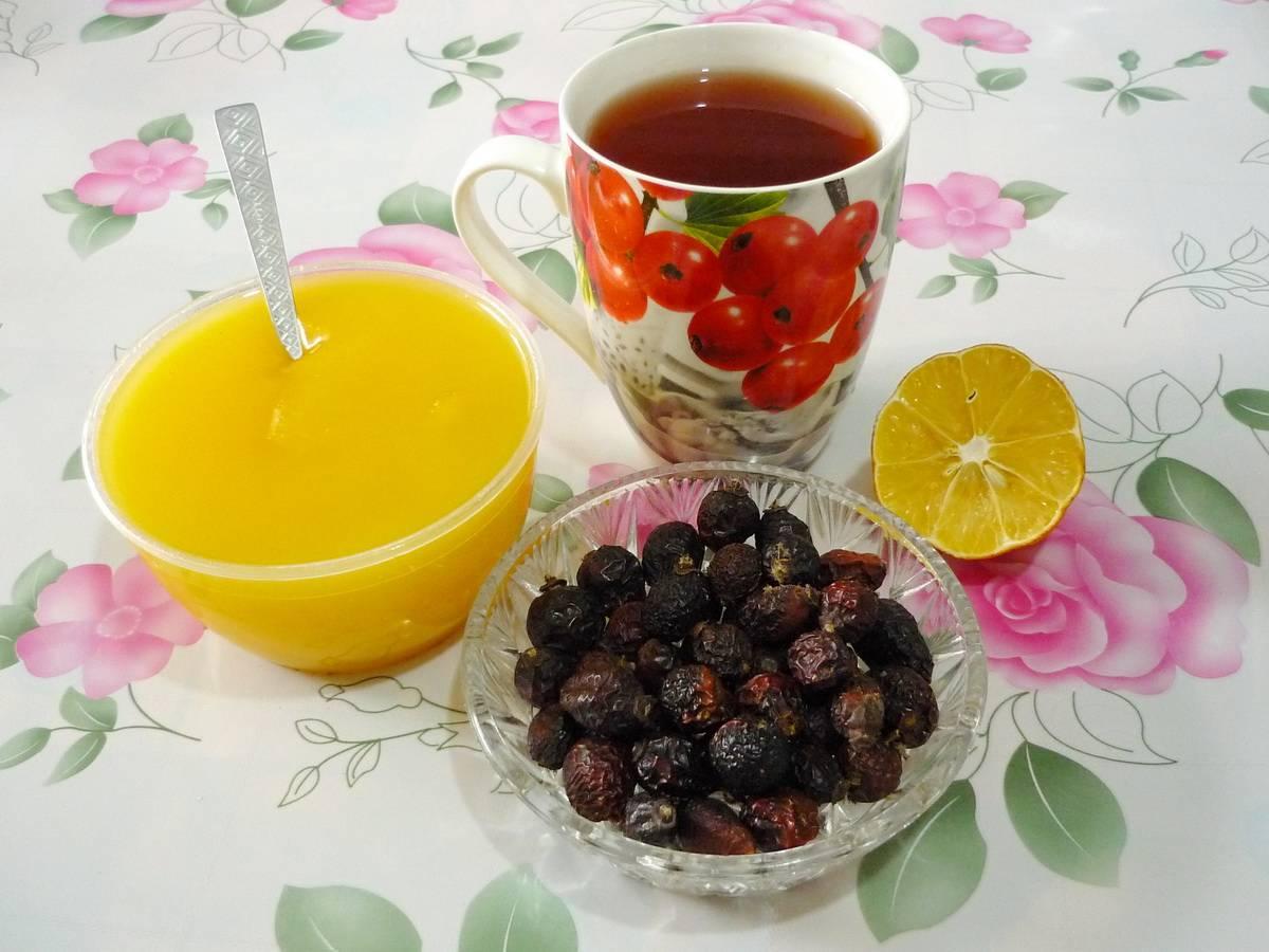как пить чай с шиповника