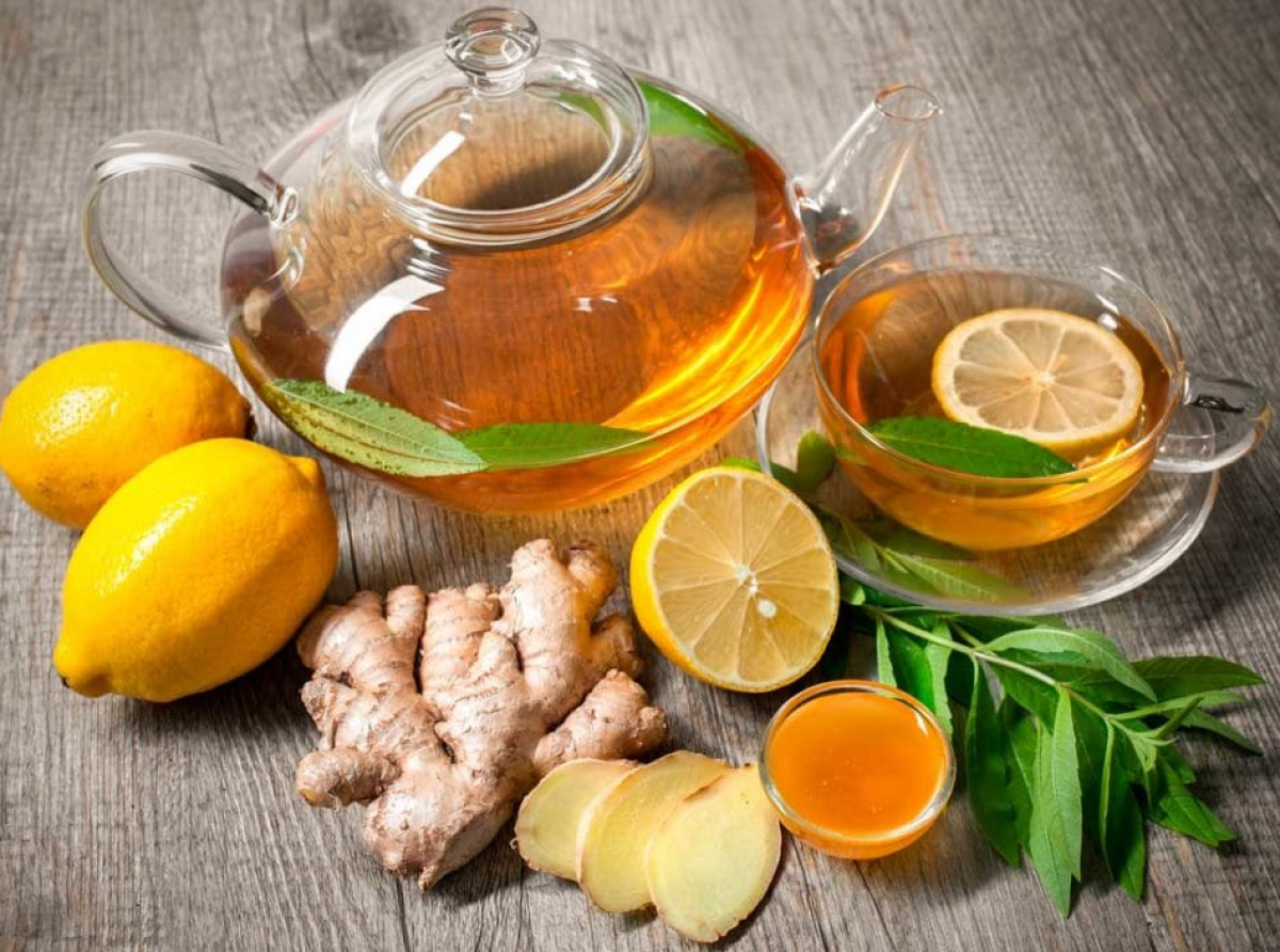 Имбирный чай от простуды для взрослых и детей – рецепт