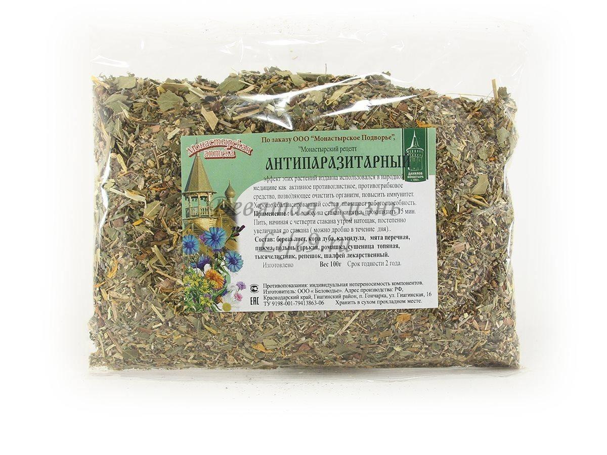 Монастырский антипаразитарный чай: как принимать от паразитов, свойства, рецепты