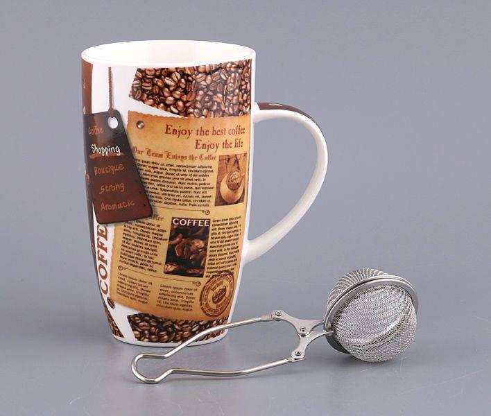 Виды кружек для заваривания чая по типу устройства и материалам