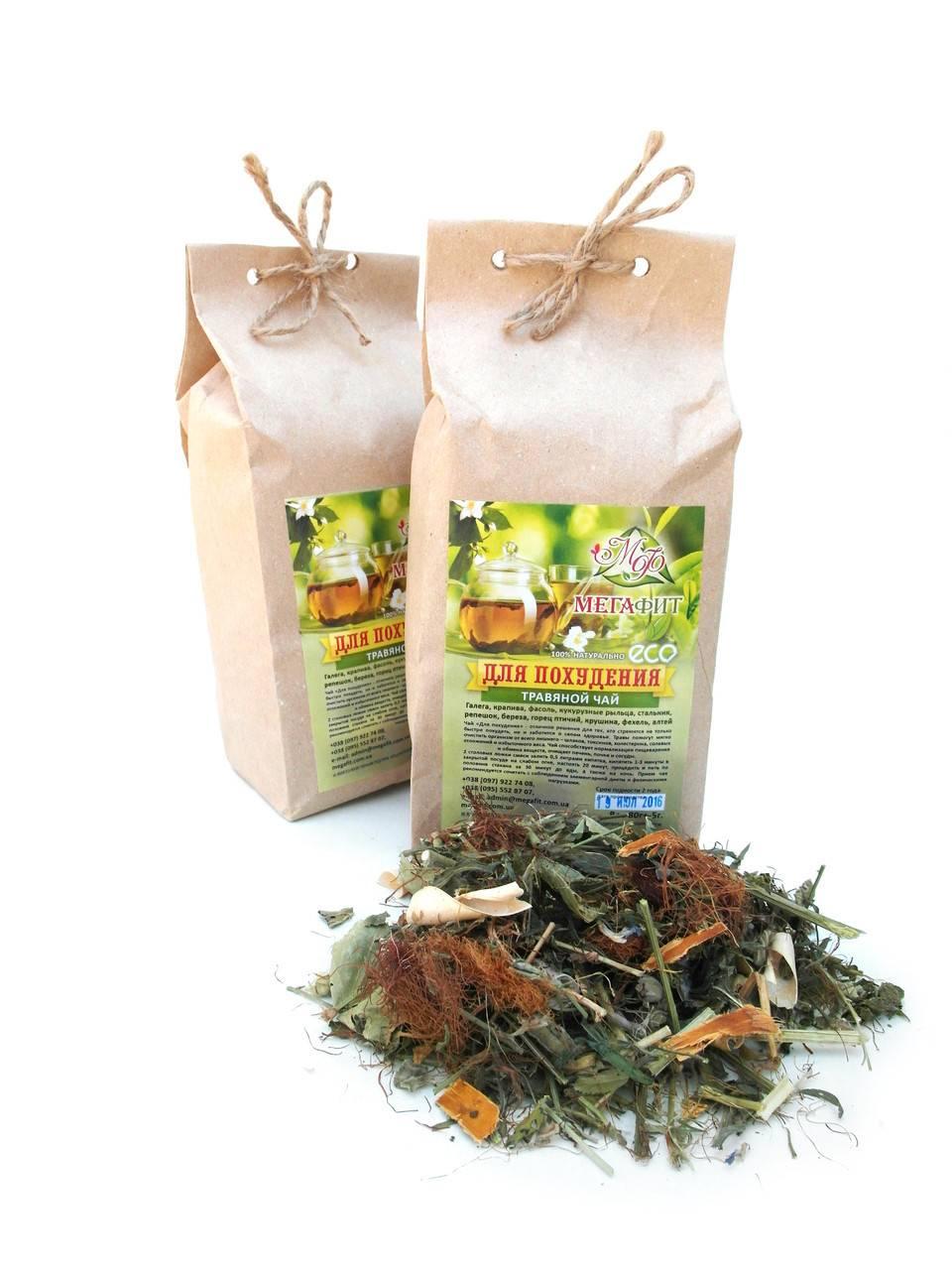Травяной чай для похудения, польза дренажных чайных напитков