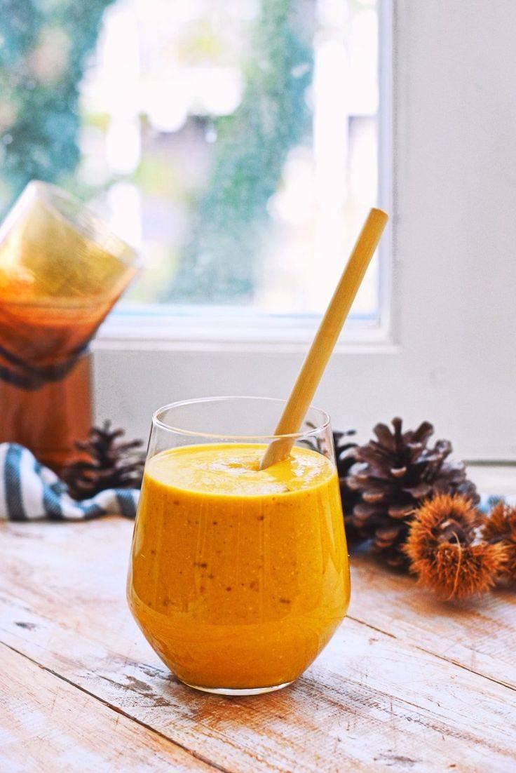 Рецепты витаминного смузи с тыквой