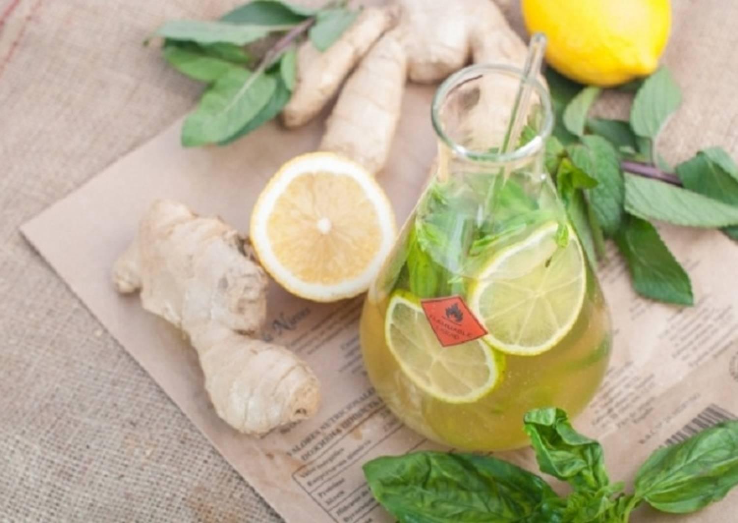 Как приготовить имбирный лимонад в домашних условиях