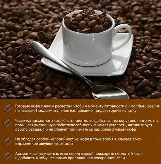 Удивительные факты о кофе   интересный сайт