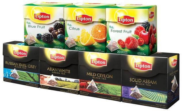 Торговая марка «lipton» — от основания до наших дней