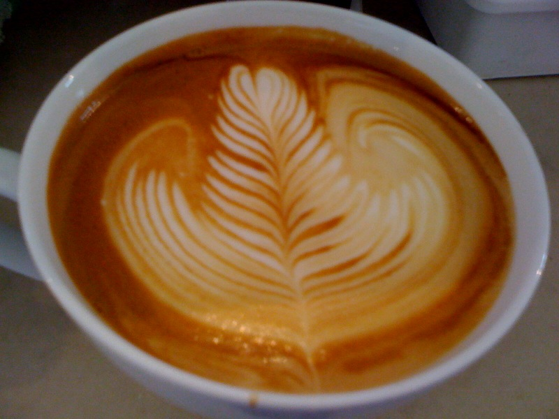 Как научиться красиво рисовать на кофе в домашних условиях – искусство латте-арт