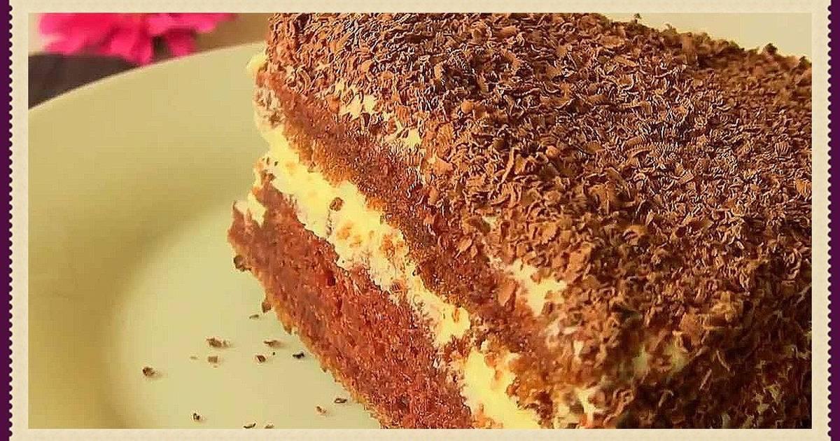 Мягкий и нежный торт на кефире - лакомство из родного детства!