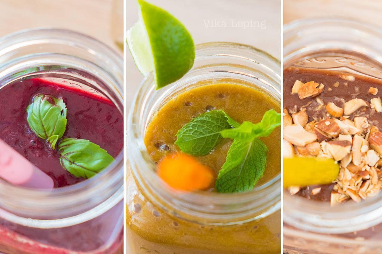 Смузи в блендере рецепты из замороженных ягод