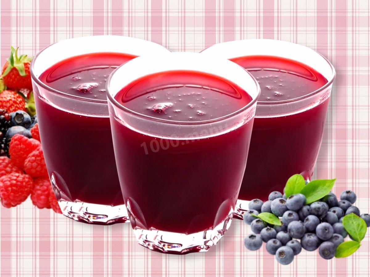 Кисель из ягод рецепт полезные свойства