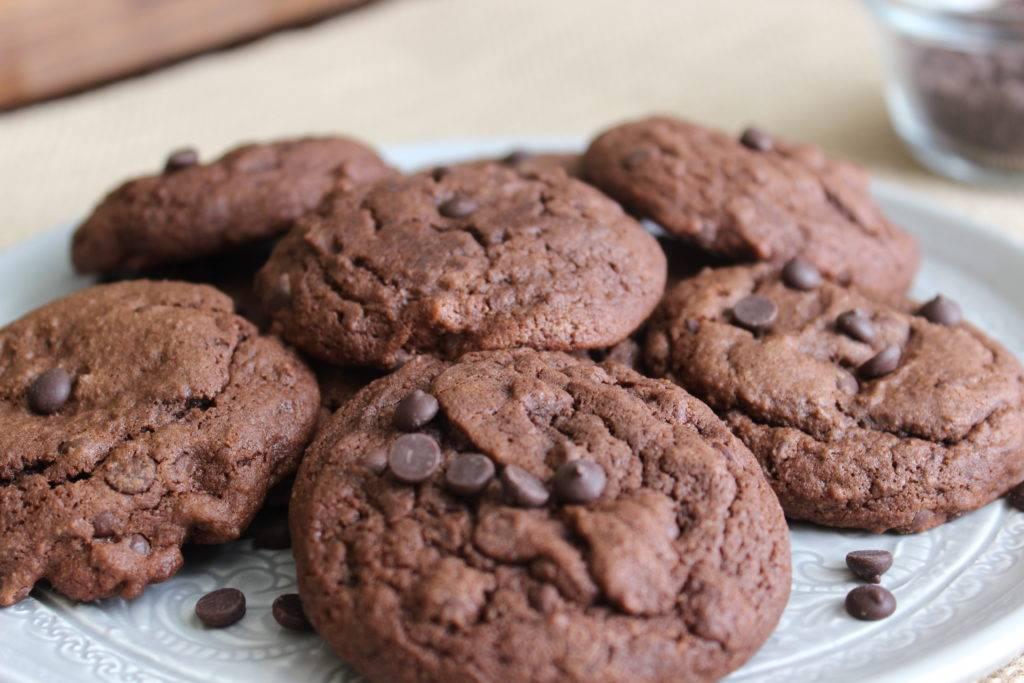 Шоколадное печенье на скорую руку новые рецепты