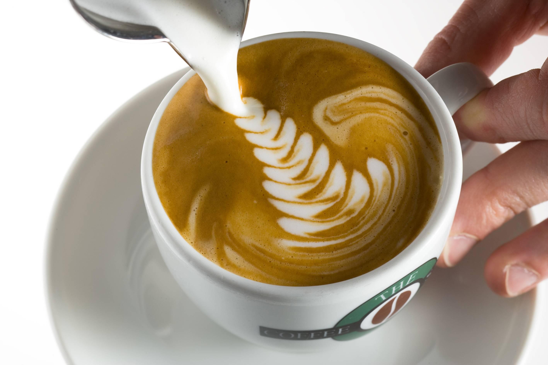 Рисунки на кофе (латте-арт или кофе-арт): инструкция и видео