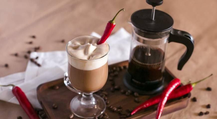 Кофе с перцем - влияние напитка на организм, рецепты