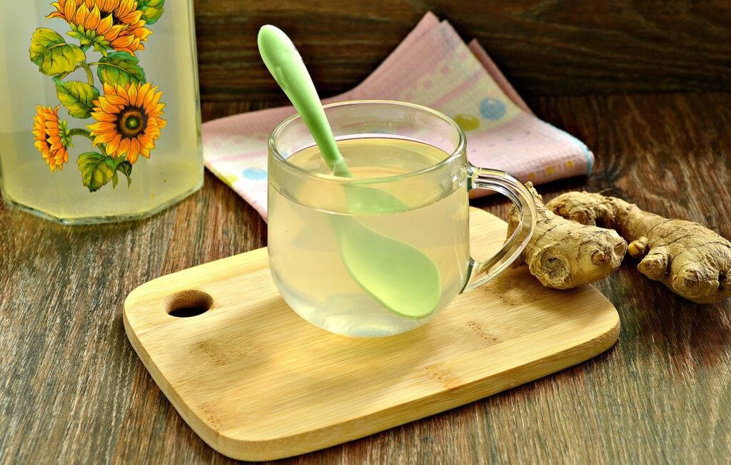 Чай с имбирем: вред и польза вкусного напитка