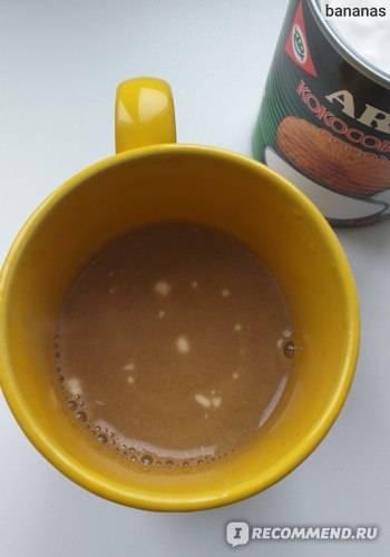 Кофе с кокосовым молоком: рецепты, калорийность, польза и вред