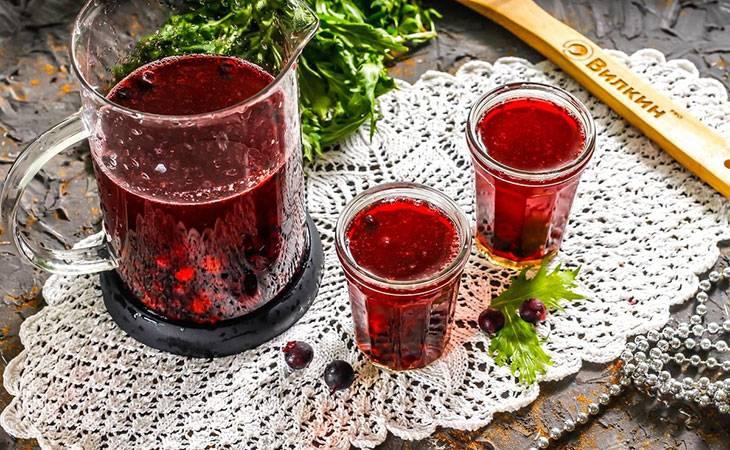 Чай с клюквой: рецепты, как заваривать, польза - чайгик