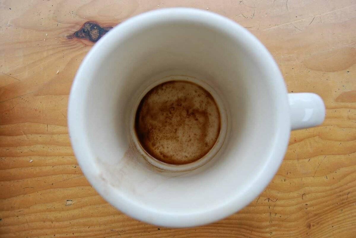 Как и чем отмыть кружку от чайного налета: простые методы