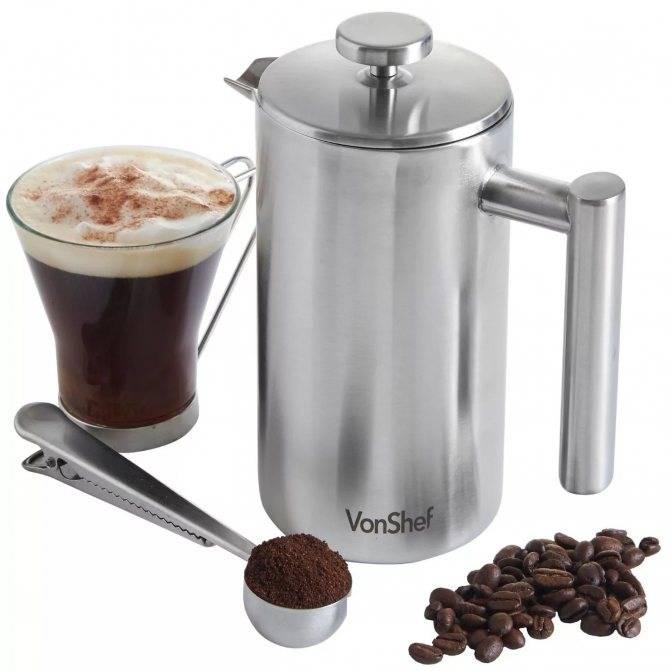 Френч-пресс для кофе - как пользоваться чтобы заварить вкусный кофе