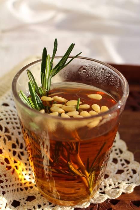 Чай с кедровыми орешками | великий чайный путь