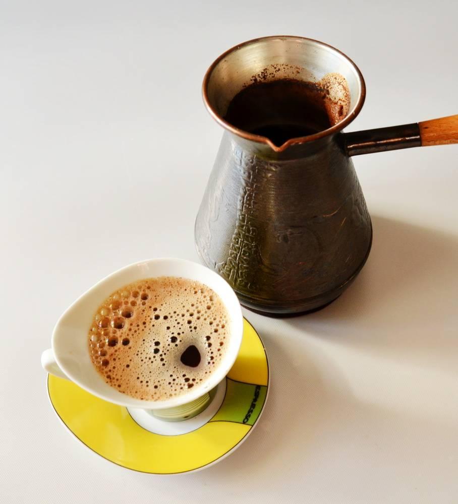 Кофе в турке с пенкой рецепт с фото - 1000.menu