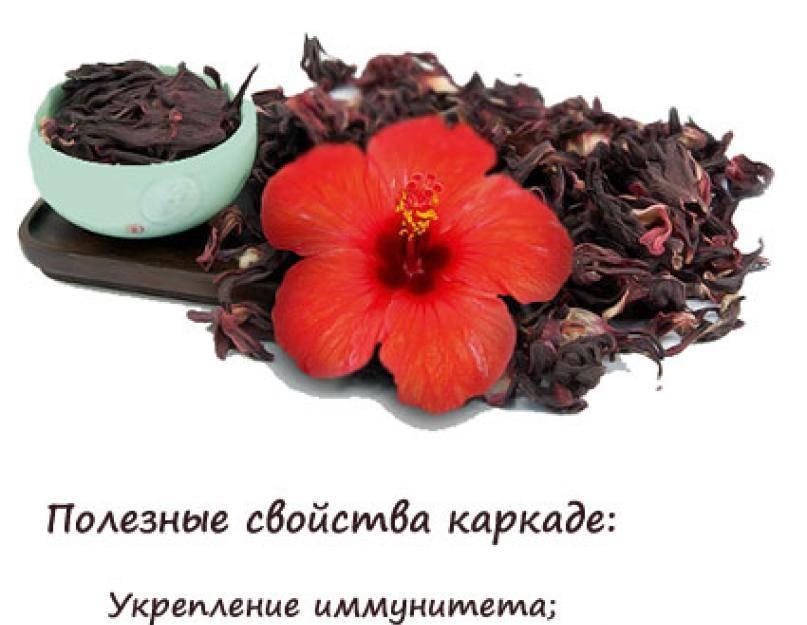 Чай каркаде при давлении: действие, польза, как заваривать