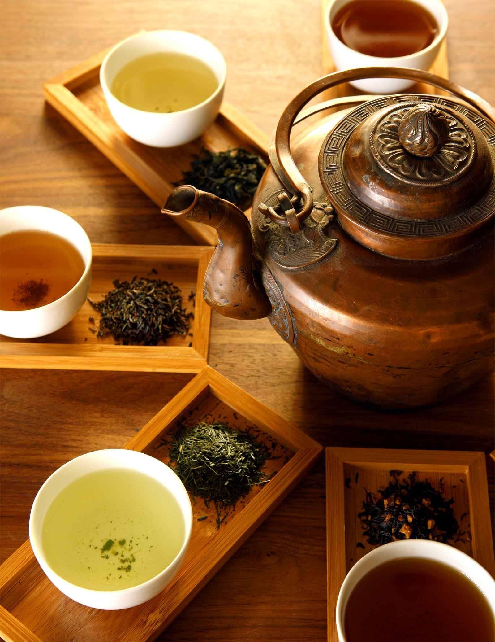Японский чай: основные сорта
