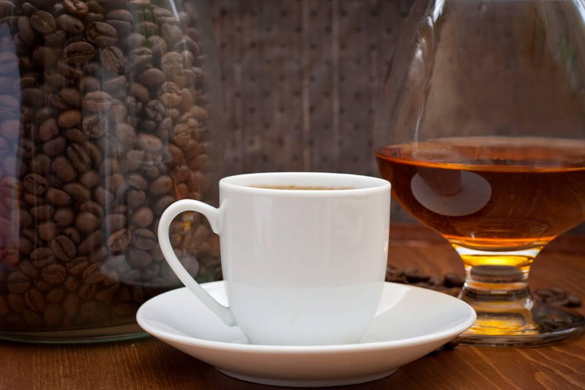 Коньяк кофейный — пошаговый рецепт с фото