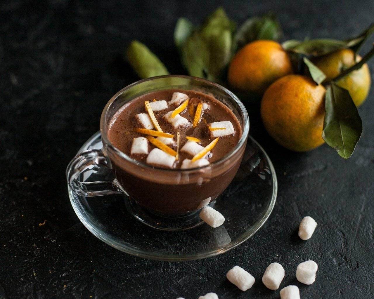 Как приготовить дома кофе с апельсином