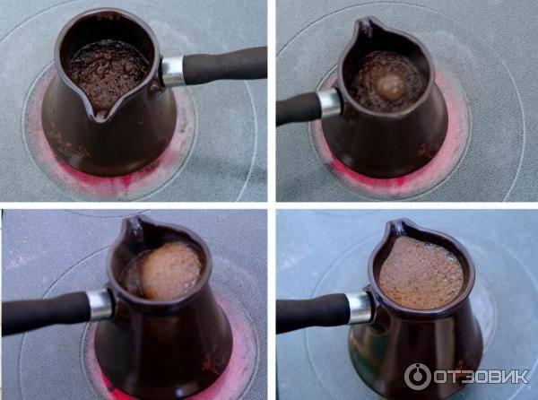 Турка для индукционной плиты: какая подходит гейзерная, медная и керамическая
