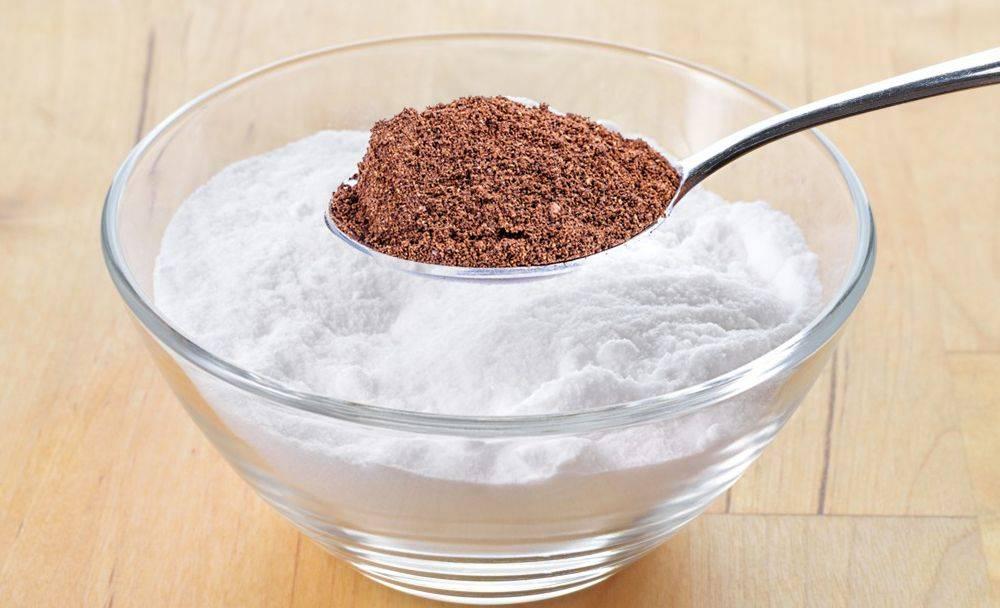 Удаление волос содой: рецепт с кофейной гущей