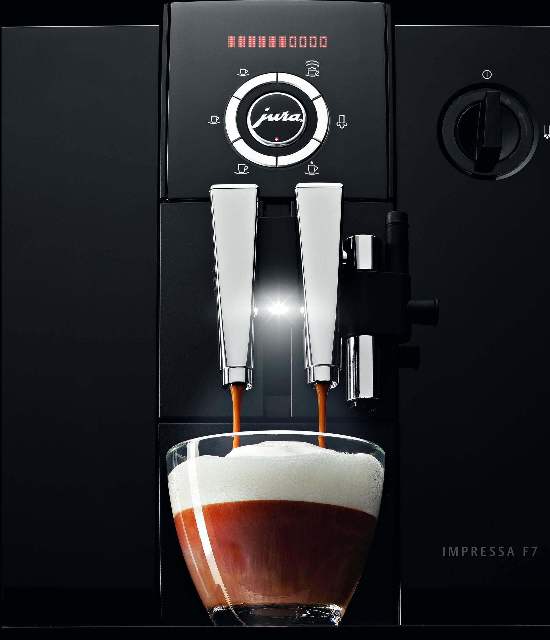 Преимущества и принцип работы кофемашины jura impressa f50
