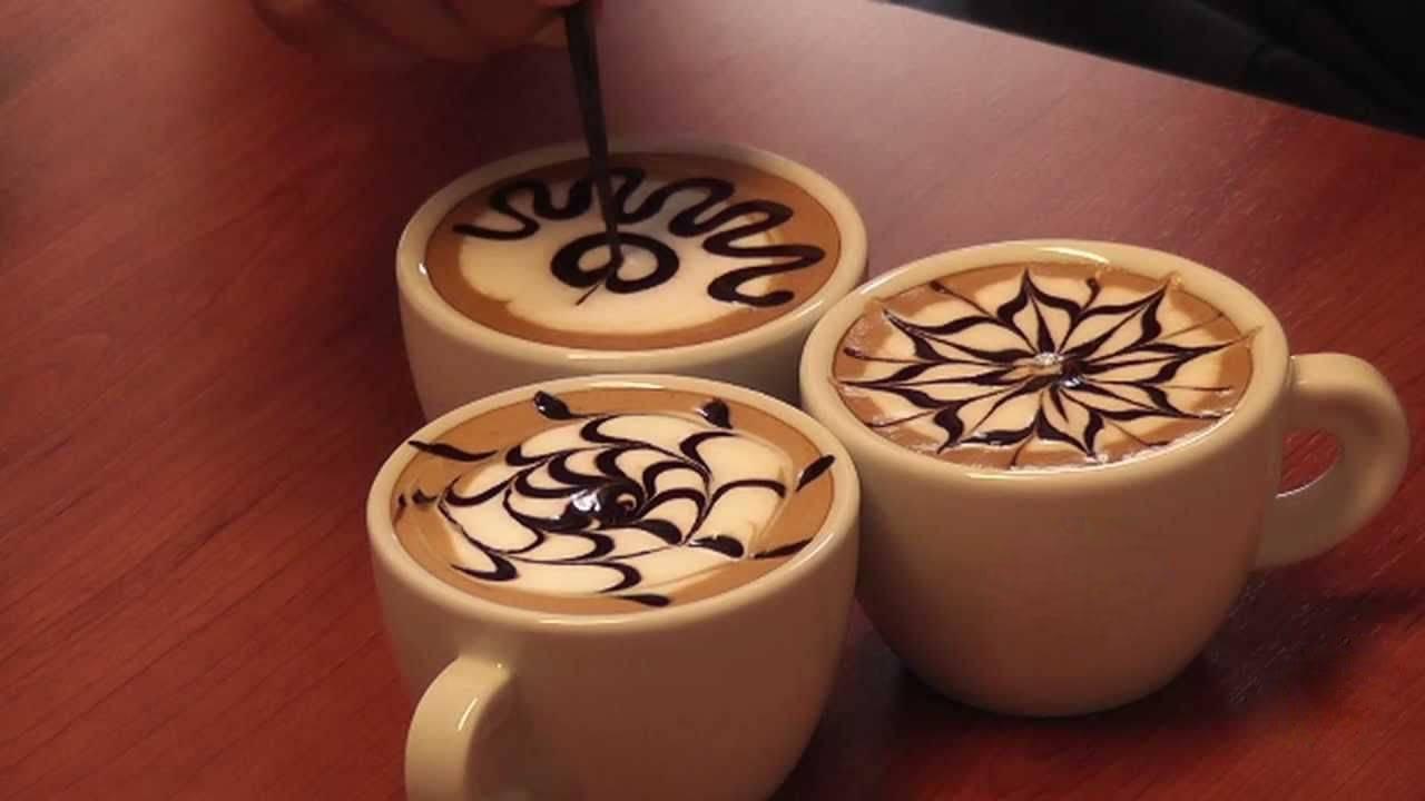 Латте-арт (кофе-арт): что это, как рисовать на кофейной пенке, трафареты для кофе, рисунки на капучино из корицы
