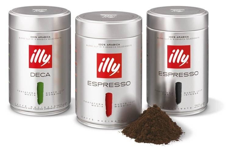 Кофе illy — история бренда и ассортимент
